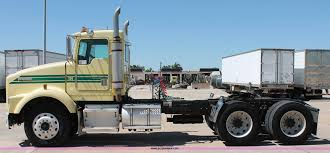1999 Kenworth T800 Semi Truck | Item K8818 | SOLD! June 30 C... 1983 Kenworth K10 Semi Truck Item Dq9447 Sold September Truck Bank Repos For Sale Special Lender Financi Flickr 2000 Freightliner Fld Db0028 Decem 1972 Mack R Sale Sold At Auction July 16 2015 1986 Volvo White J6216 August 18 T Ok And Trailer Sales Alinum Semi Trailers For Livestock Cfigurations Awesome Trucks In Okc 7th And Pattison Refuse Trash Street Sewer Environmental Equipment 1999 T800 K8818 June 30 C Med Heavy Trucks For Sale 2009 Fld120 Sd Db4076