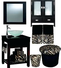 Zebra Print Bathroom Accessories Uk by Zebra Print Bathroom Set Uk U2013 Selected Jewels Info