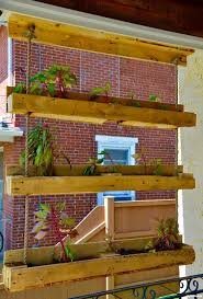 Pallet Project Inspired Making The Hanging Gardens Of On Planter