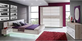 chambre complete adulte conforama lit adulte 140x190 cm dolce 2 chevets suspendus led prix promo