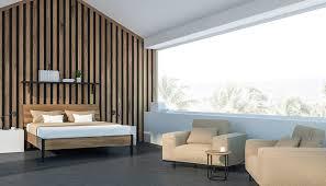 villa idee modernes schlafzimmer einer villa im dachgeschoss