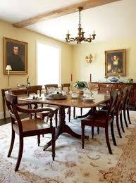 Georgian Dining Room by Restoring A Georgian Farmhouse Period Living