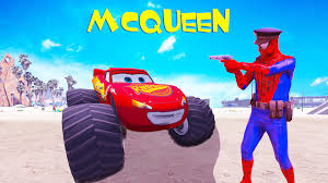 Policeman Spiderman & Lightning Mcqueen Monster & Pickup Truck Fun ... Buy Disney Lightning Mcqueen Plush Soft Toy For Kids Online India Pixar Cars Rs 500 Off Road Mcqueen And Dvd Die Vs Blaze The Monster Truck By Wilsonasmara On The World As Seen From 36 Photography Carson Age 2 Then 3 Videos And Spiderman Cartoon Venom U Playtime Beds For Sale Bedroom Machines Plastic Cheap Mack Find Toon Mater 3pack Ebay Jam Coloring Pages 2502224 Accidents De Voitures Awesome