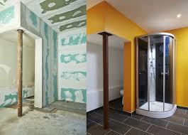badezimmer trennwand bauen montage und mehr