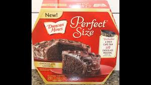 Duncan Hines Perfect Size Chocolate Lover s Cake & Frosting Mix