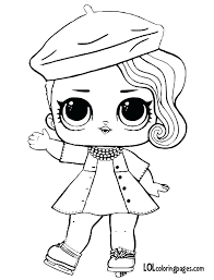 Doll Coloring Page Posh A Download Print Free Nesting Pages