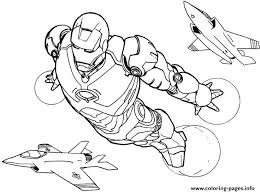 Iron Man Flying S6c1b Coloring Pages Print Download 516 Prints