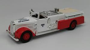 100 Diecast Fire Truck Buffalo Road Imports Ward Fire Truck 1955 FIRE PUMPERS
