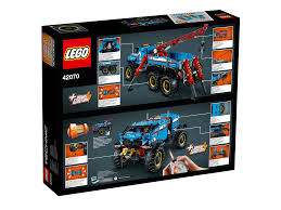 100 Free Tow Truck Games LEGO 42070 Technic 6x6 All Terrain Lego Technic Toy Toy
