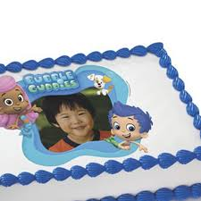 Bubble Guppies Cake Decorations by Bubble Guppies Photo Edible Image Cake Decoration