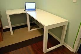 desk ikea corner desk top ikea glass top corner desk diy desk 5