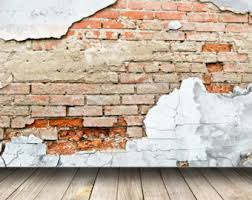 Peeling Brick Wall Photography Backdrops Old Rustic Photo Background Kids Children Teen