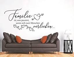 tjapalo s pkm443 wandtattoo familie ist wandtattoo familie spruch wandtattoo wohnzimmer familie wandsticker viele farben farbe braun kaffee