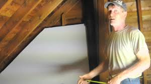 Insulating Cathedral Ceiling With Roxul by Al Bullis Insulating Cathedral Ceiling Mov Youtube