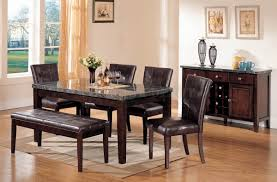 Breathtaking Dining Table With Benches And Classic Chandleholders Wood Laminate Floor