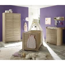 carlotta chambre bébé complète 3 pièces lit 70x140 cm armoire