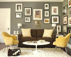 wandfarbe für braune möbel dekoration ideen wohnzimmer