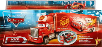Amazon.com: Cars Mack Truck Playset: Toys & Games