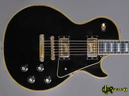 100 Gibson Custom Homes Les Paul 1972 Black Guitar For Sale GuitarPoint