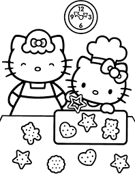 Hello Kitty Coloring Pages Pdf At