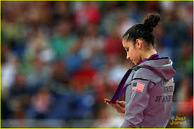 Aly Raisman Floor Routine Olympics 2016 by Aly Raisman Gold Medal On The Floor At 2012 Olympics Photo