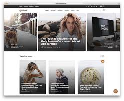 100 Best Designed Magazines 40 Fashion Blog Magazine WordPress Themes 2019 Colorlib