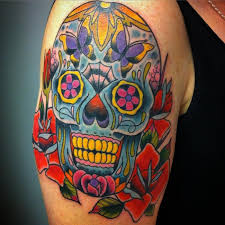 Awesome Mexican Skull Tattoo Designs 14 For Egyptian With