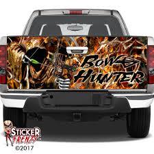 100 Camo Wrap For Truck Bow Hunter FIRE CAMO Tailgate WRAP Hunting Vinyl Sticker