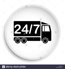 24 7 Delivery Truck Icon. 24 7 Delivery Truck Website Button On ... Free Delivery By Truck Icon Element Of Logistics Premium 3d Postal Image Photo Trial Bigstock Truck Icon Vector Stock Illustration Of Single No Shipping Vehicle Transport Svg Png Courier Service With Blank Sides Vector Illustration Royaltyfree Stock Thin Line I4567849 At Featurepics Clipart Clip Art Images Cargo Or Design In Trendy Flat Style Isolated On Grey Background Delivery Image