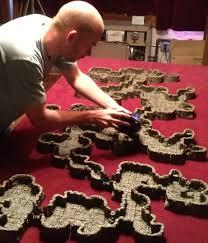 3d Dungeon Tiles Dwarven Forge by Kickstarter Dwarven Forge Game Tiles Ii Caverns Campaign
