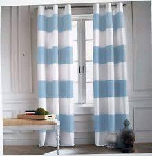 striped 100 cotton contemporary curtains drapes valances ebay