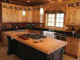 Rustic Log Cabin Kitchen Ideas by Log Cabin Kitchen Ideas Genuine Home Design