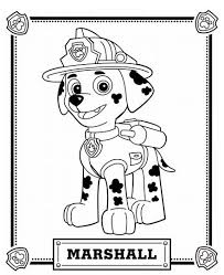Category 2017 Tags Paw Patrol Coloring Pages Printable