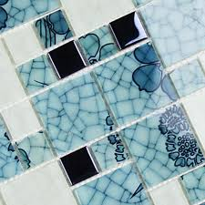 Blue Mosaic Bathroom Mirror by Wholesale Crystal Glass Mosaic Tiles Washroom Backsplash Bathroom Mirr