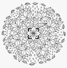 To Print Flower Mandala Coloring Pages 40 In Books With