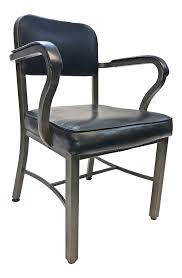 Vintage Sturgis Posture Co Industrial Black Metal Office Chair ...