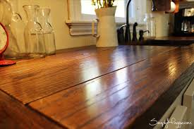 Kitchen Table Close Up
