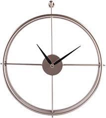 jo332bertram vintage wanduhr groß wanduhr uhr metall ohne tickgeräusche dekorative wanduhr für küche wohnzimmer büro golden