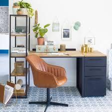 bureau de tendances fauteuil de bureau cognac au design vintage taaora mode