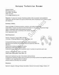 Pharmacy Technician Resume Skills New Sample Unique Autopsy Cover Of
