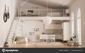 100 Minimalist Loft Scandinavian Minimalist Loft Oneroom Apartment With White