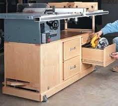 Sawstop Cabinet Saw Outfeed Table by 8 Free Benchtop And Contractor Table Saw Workstation And Outfeed