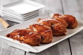 cuisiner poulet au four poitrines de poulet barbecue au four kraft canada