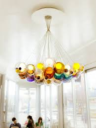 amazing glass chandeliers add to bocci s credibility