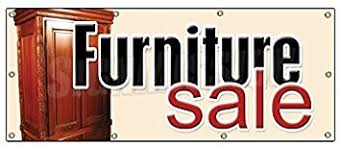 36x96 FURNITURE SALE BANNER SIGN Store Signs Sign Sofa Recliner Chair Dinette
