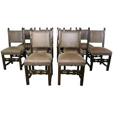 Kitchen Design : Leather Dining Room Chairs Set Of Ten Style ...