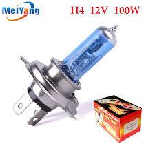 h4 100w 12v halogen bulb h4 white fog lights high power car
