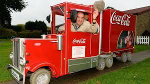 100 Coke Truck Granddad Transforms Mobility Scooter Into Coca Cola Replica