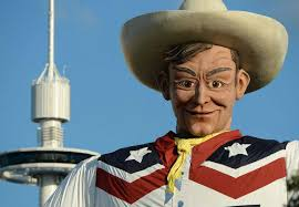Big Tex Burned Down In 2012 And Was Rebuilt Time For The 2013 Fair