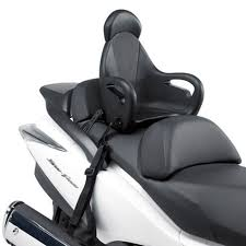 support givi siege pour enfant s650 bagagerie scooter